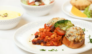 lacto ovo vegetarian meals